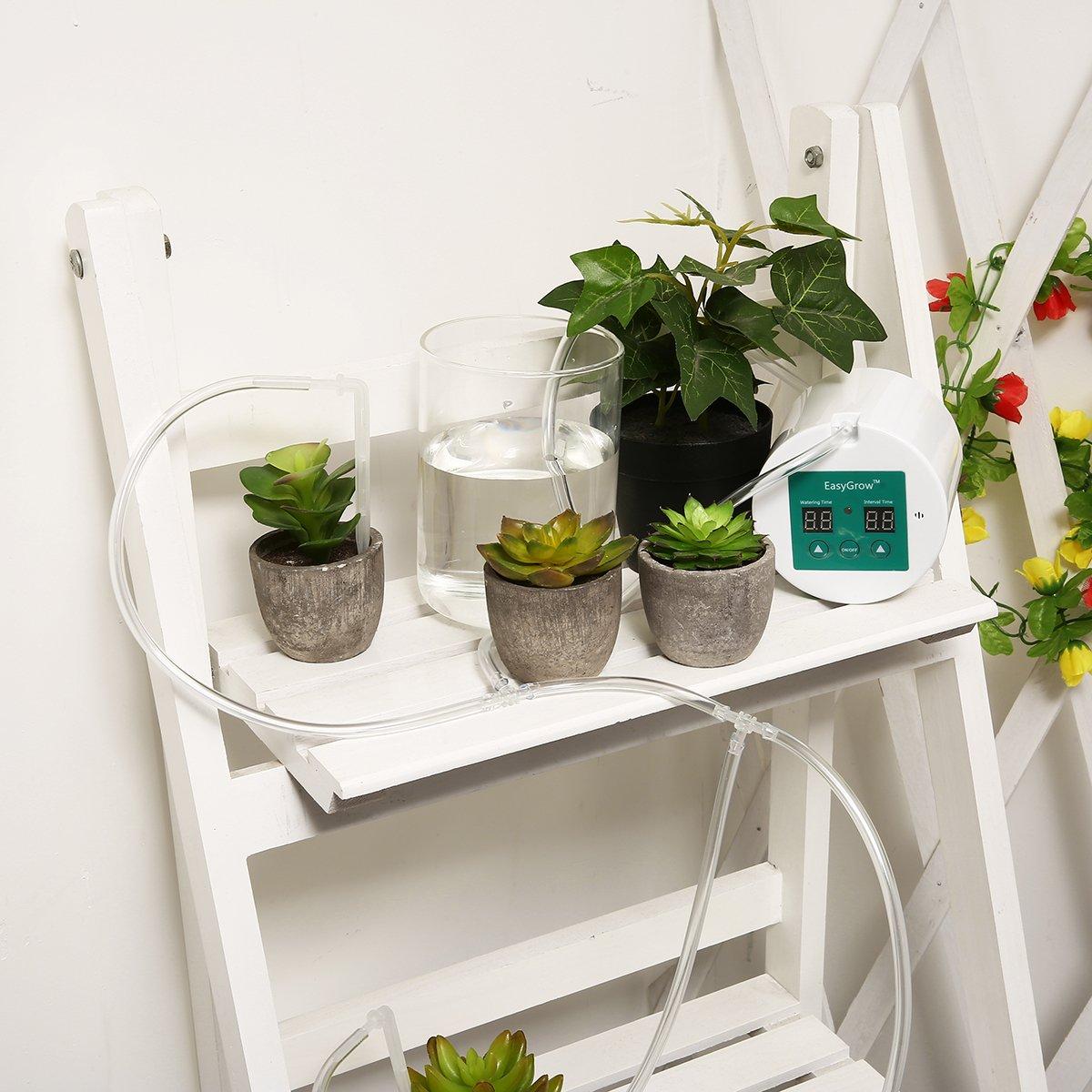 دستگاه آبیاری اتوماتیک گلدان