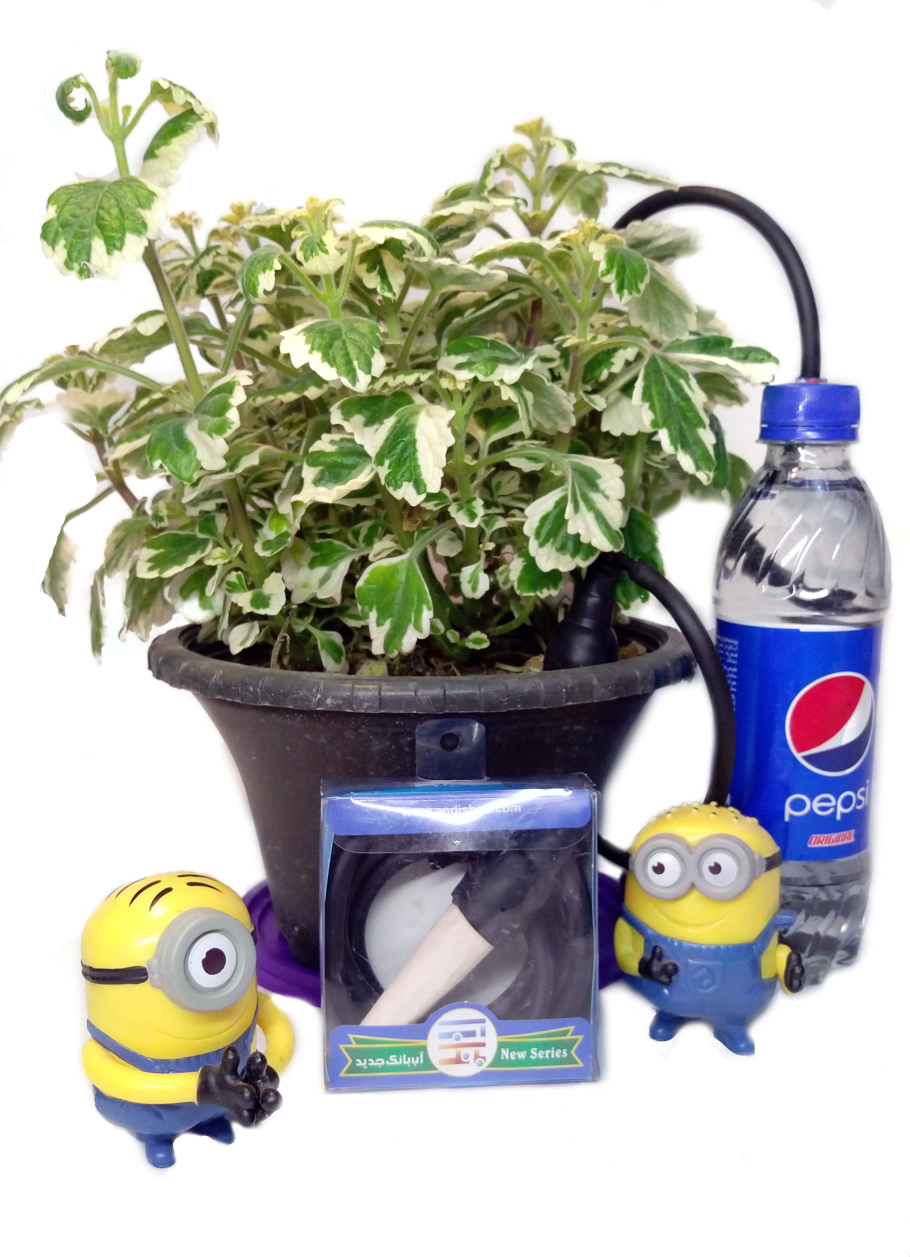 مینی آب بانک، آبیاری اتوماتیک گلدان